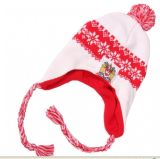 Sombrero de la gorrita tejida del acrílico del 100%/sombrero hecho punto (K-T941)