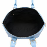 [فيغر] كبيرة مقتضبة زرقاء [بو] جلد نساء حقيبة ([مبنو041096])
