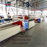 Ligne de production de panneaux de mousse PVC / Meuble et tablette de décoration Machine / Extrudeuse à vis conique double
