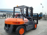 China stellte Bescheinigung des Cer-6000kg Dieselmotor-Gabelstapler her