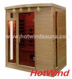 Pièce portative de sauna de sauna de l'infrarouge 2016 lointain pour 4 personnes (SEK-CP4)