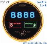 高い安全性の電子タッチ画面のホテルのドアベル