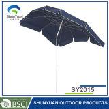 2m*1.5m亜鉛合金のTitlの長方形の傘のビーチパラソル(SY2015)
