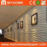Panneau de mur du matériau de construction 3D, papier peint intérieur du bambou 3D