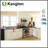 Weiße Belüftung-lamellenförmig angeordnete Küche-Schranktür (Schranktür)