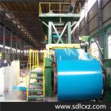 Acero galvanizado cubierto color prepintado de los productos de acero del material de construcción PPGI