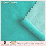 De duidelijke Geverfte Stof van het Katoenen Fluweel van de Polyester voor de Kleren van de Baby