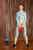 Sportswear гимнастики тройников тренировок пригодности тенниски йоги Sweat женщины идущий