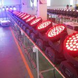 36*18W Rgbwauv 6in1 LED bewegliches Hauptstadiums-Licht mit Summen-Wäsche