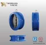 Clapet anti-retour de fer de moulage de disque avec OIN Wras de la CE reconnu