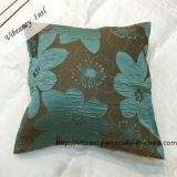 Quadratische bequeme Blumen-Art-waschbares Hauptkissen Hotle Kissen