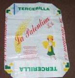 Sacco di carta della bocca aperta delle 2 pieghe per l'imballaggio dei chicchi di caffè del seme dell'alimentazione