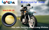Partes naturais diretas da motocicleta da câmara de ar da qualidade superior da fábrica (110/90-16)