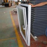 Kz237 finestra interna di inclinazione e di girata di profilo bianco di colore UPVC