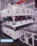 Da pele de aço hidráulica da porta de Zhengxi placa de gravação da porta da máquina que grava a máquina da imprensa hidráulica