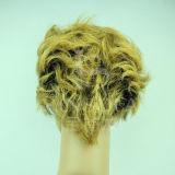 Верхние парики 100% человеческих волос ранга (Kinsofa 235929)