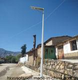 Luces de calle solares solares de gran alcance de las luces 60W de la venta caliente todas en una