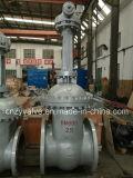 Dn800 Py25 GOST/DINの鋳造物鋼鉄Wcbのゲート弁(Z541Y-DN800-25C)