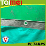 encerado do PE do HDPE 40GSM~300GSM para cobrir com o UV tratado