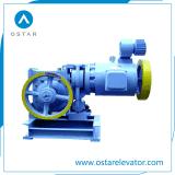 Pequeña máquina de tracción del elevador engranado AC2 de la carga (OS111-YJF120WL)