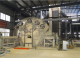 Scheda media di densità della macchina di falegnameria che fa macchina