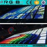 Vídeo leve Dance Floor do diodo emissor de luz da tela de indicador P10 do estágio