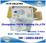 Yaye 2016 Best Sell 3W 5W 7W 9W 12W 15W 18W 30W 40W 50W E40 GU10 E14 B22 E27 LED Bulbs/LED Bulb Light (Availabe Watts: 1W-150W)