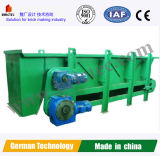 煉瓦作成機械のための高いTechnologyclayボックス送り装置