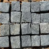 テラスのための灰色のGranite Cobble Stone Pavers、Driveway、Landscape