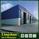 Tettoia prefabbricata della fabbrica della struttura d'acciaio di disegno della costruzione