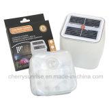 Le jardin solaire extérieur allume la lampe gonflable s'arrêtante actionnée solaire de lanterne