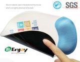 인간 환경 공학 인쇄할 수 있는 실리콘 젤 마우스 패드 손목 나머지