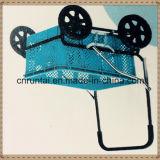 Вагонетка покупкы багажа колес тележки 4 инструмента