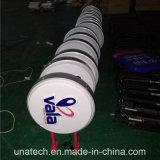 Bekanntmachen Vakuummedia-Bild-Licht-Kästen des Abbildung-der Aluminiumrahmen-LED