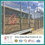 Het pvc Met een laag bedekte Systeem van de Omheining van de Veiligheid/Anti beklimt de Omheining van de Veiligheid van het Staal Fence/358
