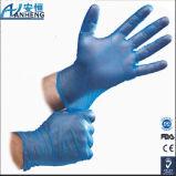 Puder-Freie Vinylprüfung-Handschuhe - groß - Fall von 1000