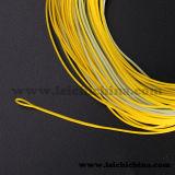 Linha de pesca de seda da mosca do ouro da alta qualidade