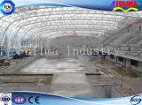 Edificio prefabricado de la estructura de acero para la piscina (FLM-022)