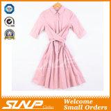 Vestiti Sleeveless del vestito dalle donne del cotone delle signore