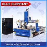 목제 가구, MDF, PVC, 아크릴 PCB를 위한 Ele1530-4 축선 CNC 목제 새기는 기계