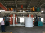 машина прессформы дуновения цистерны с водой HDPE 2000L отливая в форму