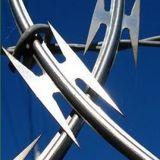 製造によって電流を通されるかみそりの有刺鉄線