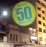 Bild-Reklameanzeigegobo-Projektor der China-bester verkaufenprodukt-sechs