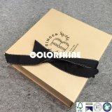 Caja de embalaje del regalo de papel de oro de la alta calidad con el encierro del imán