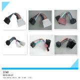 Connecteur hommes-femmes de harnais de fil d'autoradio de 16 bornes
