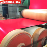Покрынный цветом гальванизированный Corrugated лист толя металла в катушке