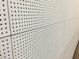 De geperforeerde Plaat van het Plafond van het Silicaat van het Calcium voor Isolatie