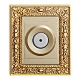 L'alta qualità ha forgiato l'interruttore d'ottone della parete del disco