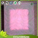 Mattone di vetro variabile della mensola LED di colore di RGB