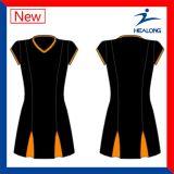 Sublimação Cheap Netball Dresses Skirt Shirts Vestuário